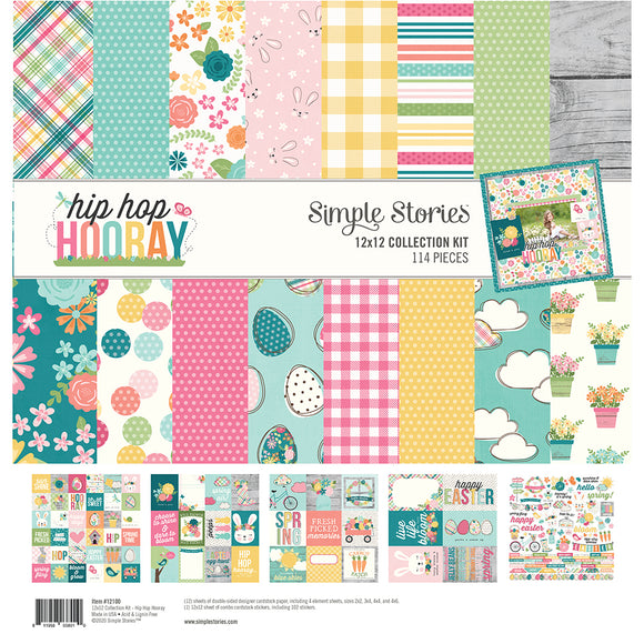 Simple Stories Collection Kit - Hip Hop Hooray