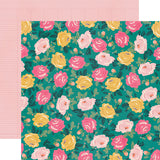 Simple Stories Papers - I AM - Blooming - 2 Sheets