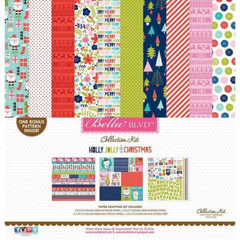 Bella Blvd Collection Kit - Holly Jolly Christmas