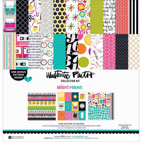 Illustraded Faith by Bella Blvd Collection Kit - Bright & Brave