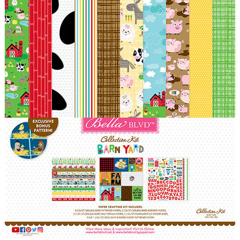 Bella Blvd Collection Kit - Barnyard
