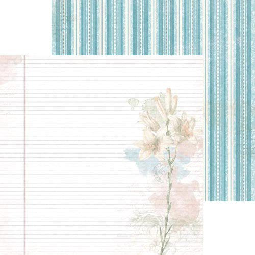 Bo Bunny Papers - Garden Journal - Delight - 2 Sheets