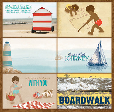Bo Bunny Cut-Outs - Boardwalk - Bliss