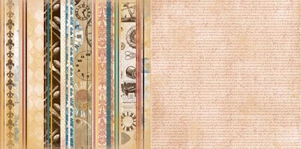 Bo Bunny Papers - Provence - C'est Chic - 2 Sheets