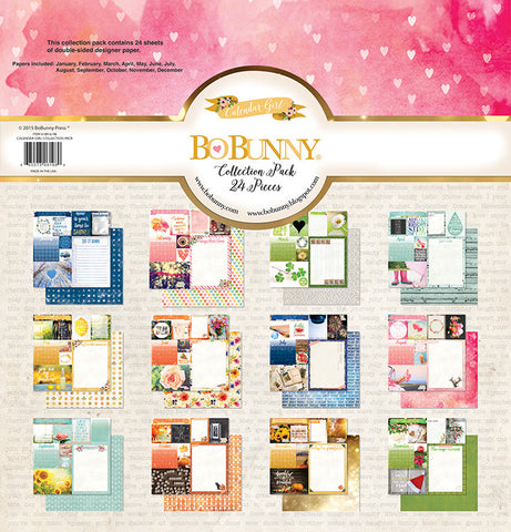 Bo Bunny Collection Kit - Calendar Girl
