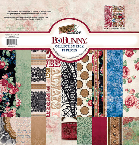 Bo Bunny Collection Kit - Love & Lace