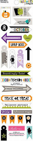 Bella Blvd Trinkets Cardstock Stickers - Halloween Magic