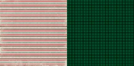 Bo Bunny Papers - Merry & Bright - Twinkle - 2 Sheets