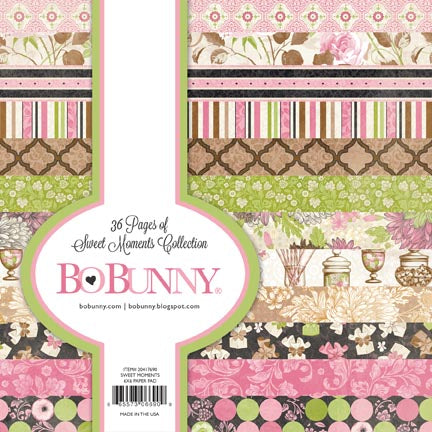Bo Bunny 6x6 Paper Pad - Sweet Moments