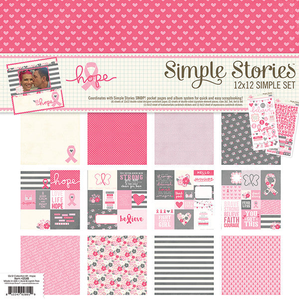 Simple Stories Collection Kit - Hope