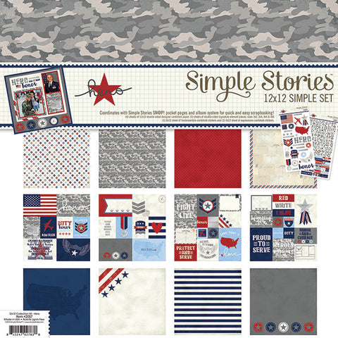 Simple Stories Collection Kit - Hero