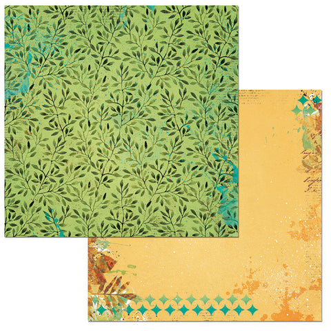 Bo Bunny Papers - Dreams of Autumn - Forest - 2 Sheets
