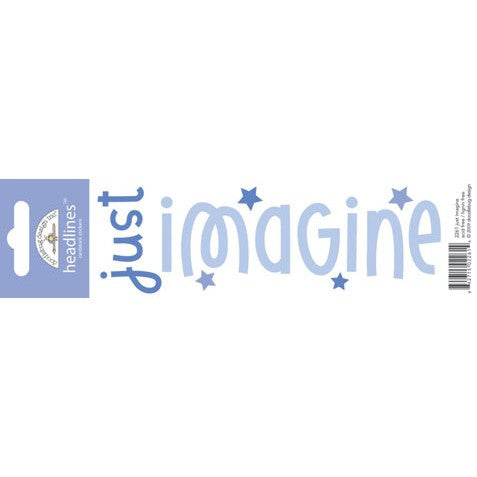 Doodlebug Design Headlines Stickers - Imagine