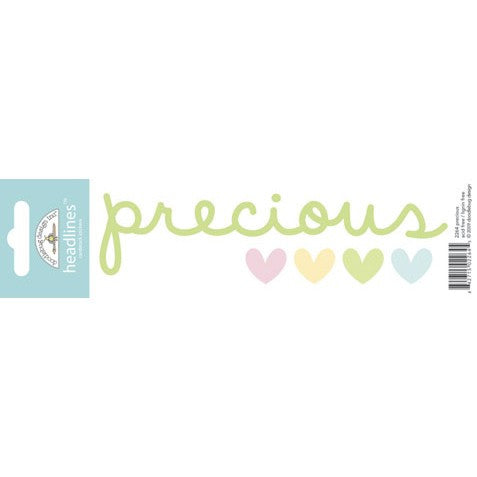 Doodlebug Design Headlines Stickers - Precious