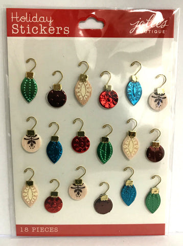 Jolee's Boutique 3D Stickers - Mini Ornament Repeat