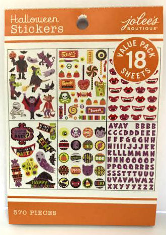 Jolee's Boutique Sticker Book - Halloween
