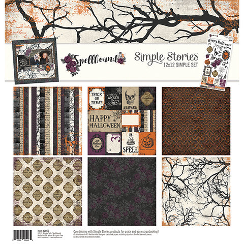 Simple Stories Collection Kit - Spellbound