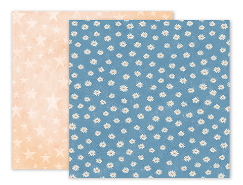 Pink Paislee Papers - Sweet Freedom - Paper 09 - Two Sheets