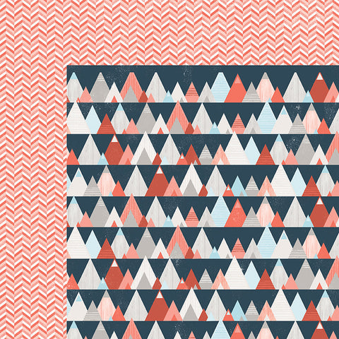 Pink Paislee Papers - Outfitters - 12 - Two Sheets