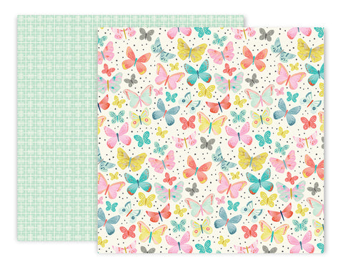 Pink Paislee Papers - Turn the Page - 04 - Two Sheets