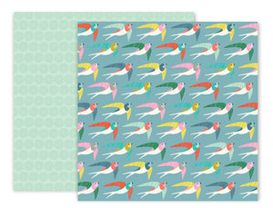 Pink Paislee Papers - Turn the Page - 16 - Two Sheets