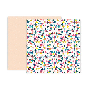 Pink Paislee Papers - Pick-Me-Up - Paper 06 - Two Sheets