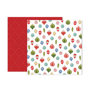Pink Paislee Papers - Together for Christmas - Paper 11 - Two Sheets