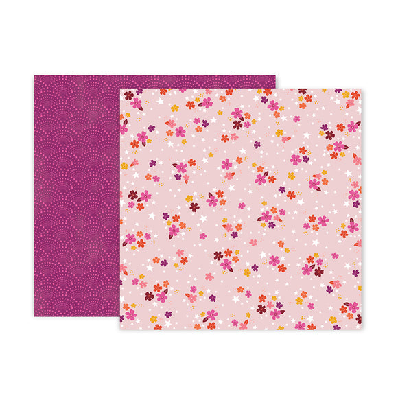 Pink Paislee Papers - Truly Grateful - Paper 04 - Two Sheets