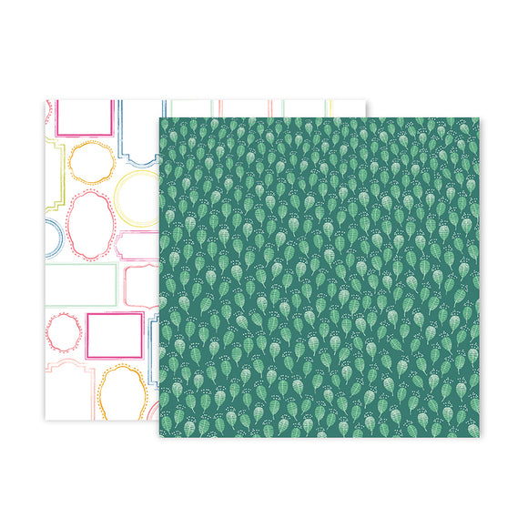 Pink Paislee Papers - Truly Grateful - Paper 22 - Two Sheets