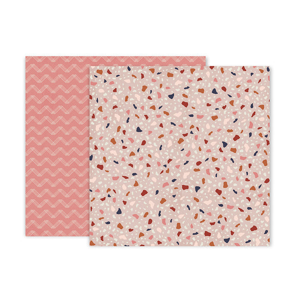 Pink Paislee Papers - Again & Again - Paper 06 - Two Sheets