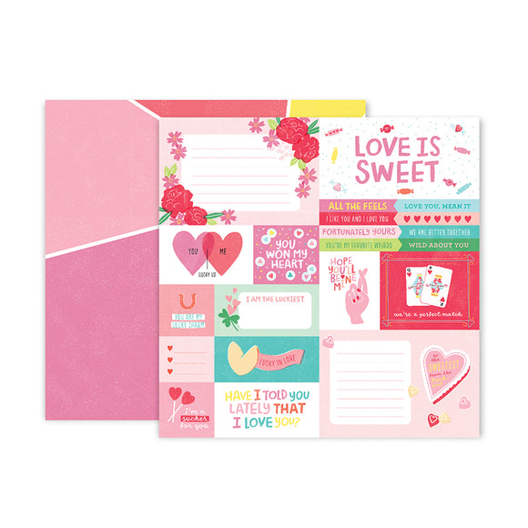 Pink Paislee Cut-Outs - Lucky Us - Paper 01