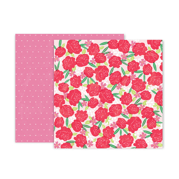 Pink Paislee Papers - Lucky Us - Paper 02 - Two Sheets