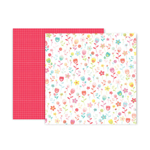 Pink Paislee Papers - Lucky Us - Paper 05 - Two Sheets