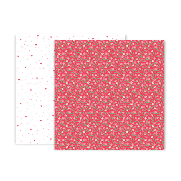 Pink Paislee Papers - Lucky Us - Paper 10 - Two Sheets