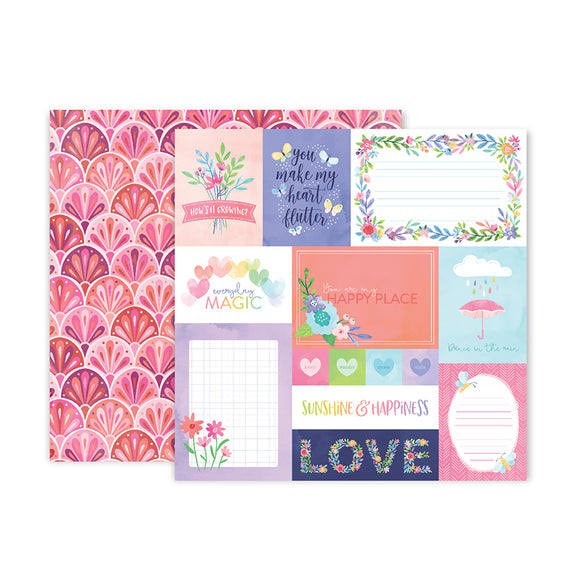 Pink Paislee Cut-Outs - Bloom Street - Paper 01