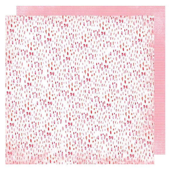 Heidi Swapp Papers - Pineapple Crush - Coral Reef - 2 Sheets