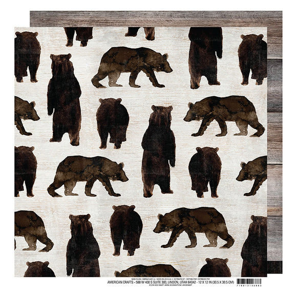 Heidi Swapp Papers - Wolf Pack - Mama Bear - 2 Sheets