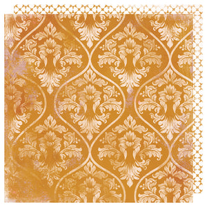 Heidi Swapp Papers - Honey & Spice - Marmalade - 2 Sheets