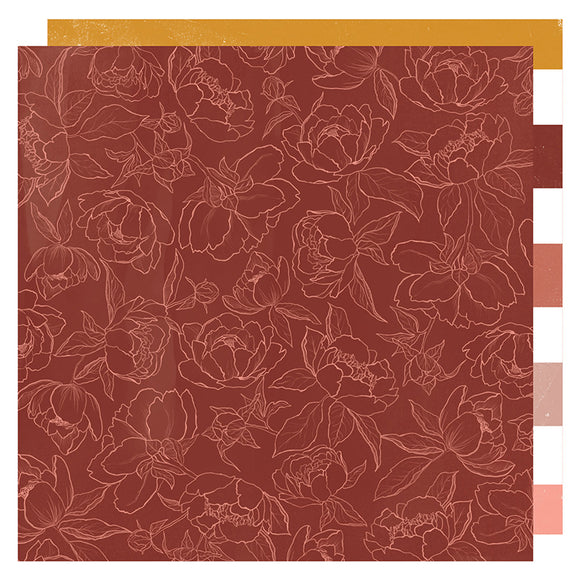Heidi Swapp Papers - Honey & Spice - Cider House - 2 Sheets