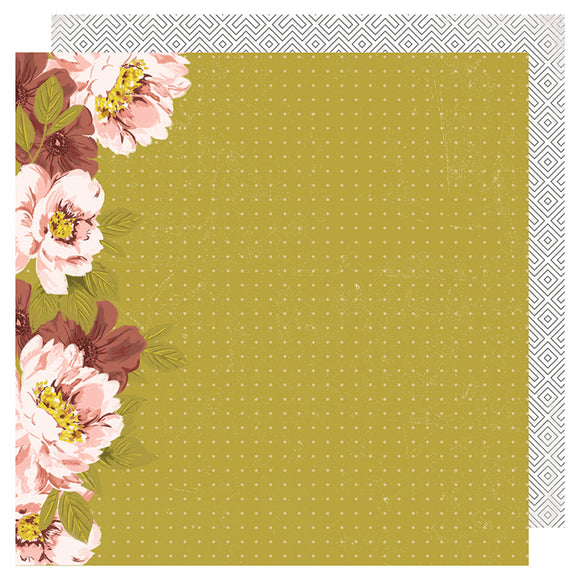 Heidi Swapp Papers - Honey & Spice - Wallflower - 2 Sheets