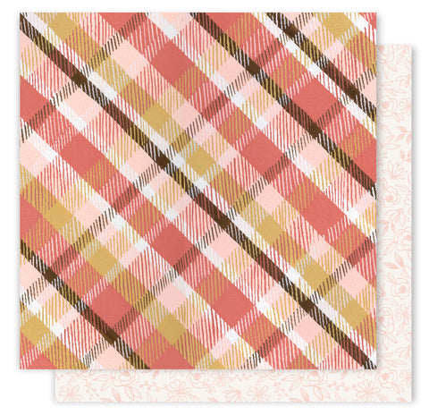 1Canoe2 Papers - Creekside - Cozy Plaid - 2 Sheets