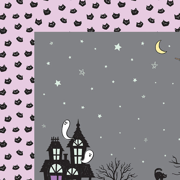 American Crafts Papers - Bootiful Night - Eerie - 2 Sheets