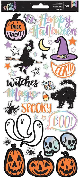American Crafts Cardstock Stickers - Bootiful Night