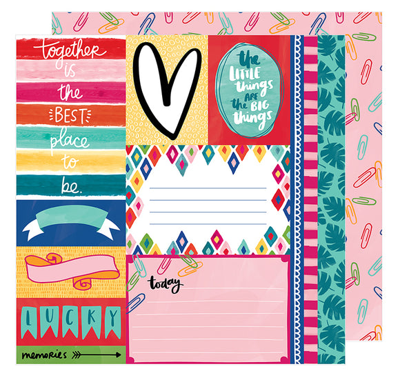 American Crafts Cut-Outs - Amy Tangerine - Hustle & Heart - The Little Things