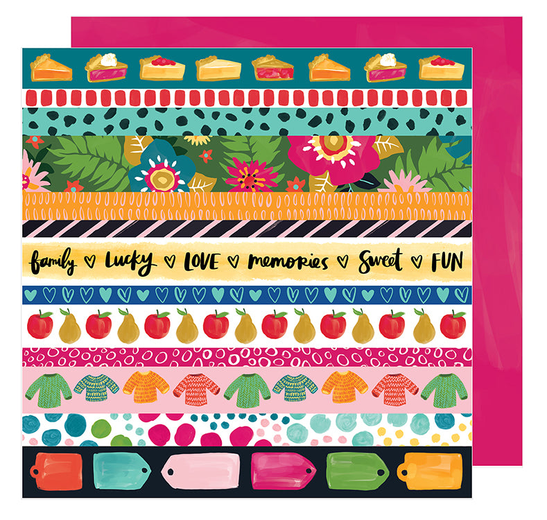 American Crafts Cut-Outs - Amy Tangerine - Hustle & Heart - In a Row