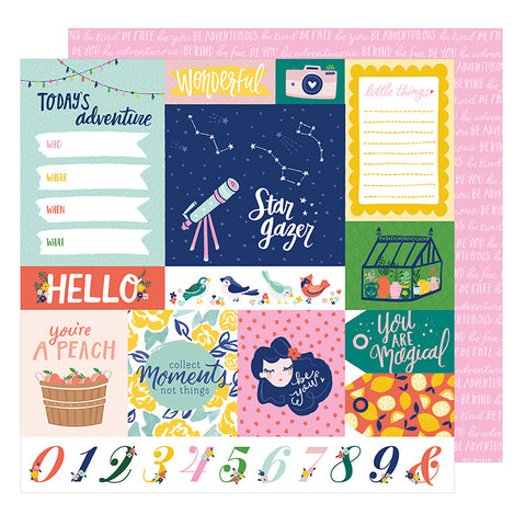 American Crafts Cut-Outs - Dear Lizzy - Star Gazer - Adventure