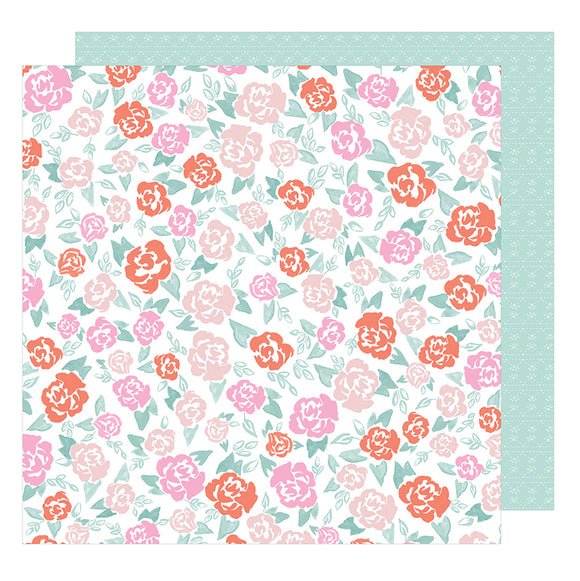 American Crafts Papers - Dear Lizzy - Star Gazer - Sweet Pea - 2 Sheets