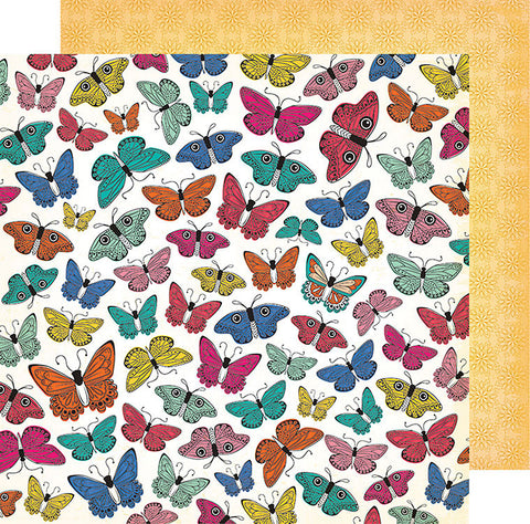 Vicki Boutin Papers - All the Good Things - Social Butterfly - 2 Sheets