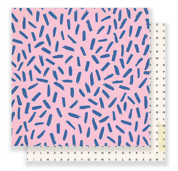 Crate Paper Papers - Good Vibes - Girls Night - 2 Sheets
