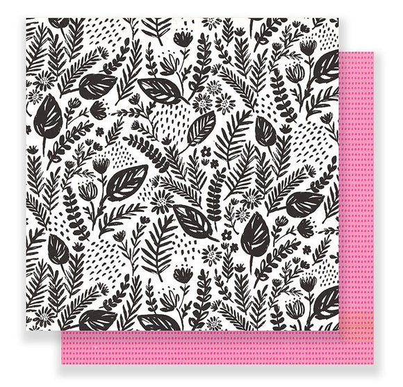 Crate Paper Papers - Good Vibes - Flourish - 2 Sheets